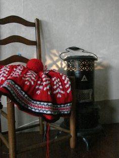 MorningRamble knitted afghan