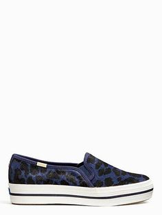 528f6f3c92 Keds X Kate Spade New York Triple Decker Leopard Sneakers