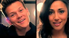 Macklemore - Can't Hold Us - Music Video (Tyler Ward & Alex G Acoustic Cover) Official  I love listening to this girl and watching her cover videos!