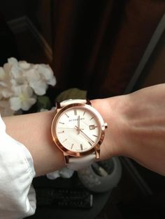 My Beautiful Burberry Watch! <3