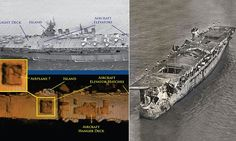 Aircraft carrier 'amazingly intact' after 64 years under the Pacific