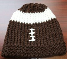 Football hat <Free Pattern>
