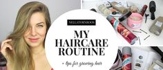 Haircare Routine for Long and Thick Hair  http://www.elle.fi/nellatornroos
