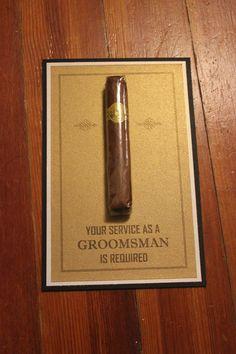 Will You Be My Groomsman Best Man by JLPWedding, $3.25