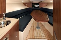 Corsair 32 yacht - Interior