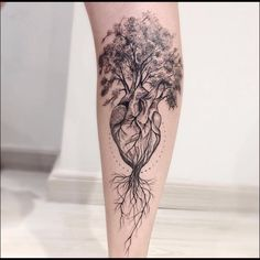 Tree of Life Tattoo - InkStyleMag - Made by Victor Montaghini Tattoo . - Tree of Life Tattoo – InkStyleMag – Made by Victor Montaghini tattoo artists in Sao Paulo, Braz - Tattoo Life, Roots Tattoo, Tree Of Life Tattoos, Forearm Tattoos, Body Art Tattoos, Sleeve Tattoos, Tattoo Main, Tattoos For Guys, Tattoos For Women