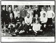 Rugby history - today 26/08 in 1903  South Africa 10-10 British Isles  Mark Morrison, a Scot, captained the Lions in a drawn Test against South Africa, who are also led by an ex-Scottish international, Alex Frew. The referee, moreover, is Bill Donaldson, another former Scottish cap.