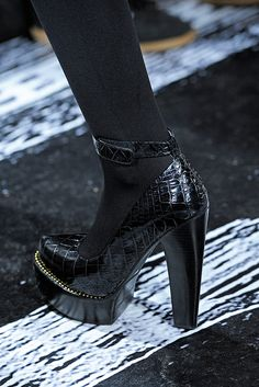 DKNY Fall 2012 Ankle Strap Heels