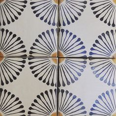 Tabarka tile with a large creamy ceramic hex? or either or the beveled ceramic tiles