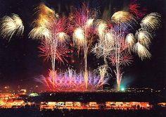 Akita, Japan 大曲の花火 が 見たい
