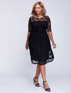 a281ce5f05191 Luna lace dress by Kiyonna Diana Wedding