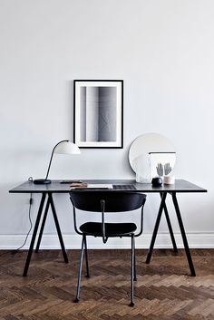 Workspace styled for Alvhem by Johanna Bagge (KVART) / photo: Alice Johansson