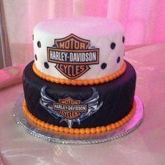 Hartley Davidson cake