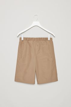 COS | Celebrating 10 years | Technical cotton-mix shorts