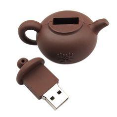 Flash drive teapot