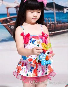 b34dc24399 Girl Beachwear Childrens Beach Supplies Kids Bathing Suits Kids Swimwear  Child Sets Beachwear Girls Swimsuit Children Swimwear Baby Swimsuit