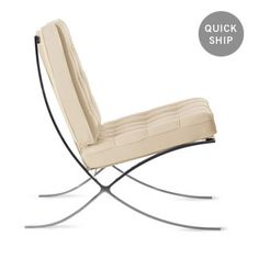 Explore the authentic Barcelona Chair from Knoll by Ludwig Mies van der Rohe. This midcentury classic is the epitome of modern furniture design. Furniture Decor, Modern Furniture, Furniture Design, Ludwig Mies Van Der Rohe, Design Within Reach, Barcelona Chair, Mid Century Modern Design, Chair Design, Mid-century Modern