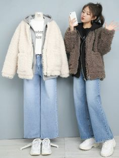 Korean Casual Outfits, Edgy Outfits, Mode Outfits, Simple Outfits, Korean Girl Fashion, Ulzzang Fashion, Korea Fashion, Asian Fashion, Aesthetic Fashion