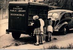 Chicago Public Library Bookmobile Service, ca. 1940