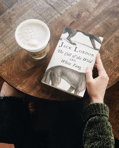 The call of the wild, and White fang. By Jack London. Good Books, Books To Read, My Books, Crime Books, Coffee And Books, Book Aesthetic, Book Photography, Book Nerd, Bookstagram