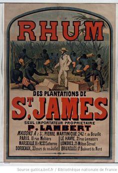 Rhum des plantations de St James... : [affiche] / [non identifié] - 1 Gallica / BnF