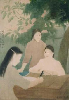 Nguyen Phan Chanh's Silk Painting