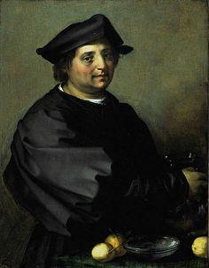 Andrea del Sarto ~ Domenico di Jacopo di Matteo, called 'Becuccio Bicchieraio', c.1528-30