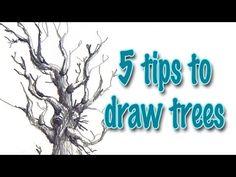 Drawing tutorial - Plants & bushes | Kurs rysunku - Małe rośliny i krzaki [S02E08 ENG/PL] - YouTube