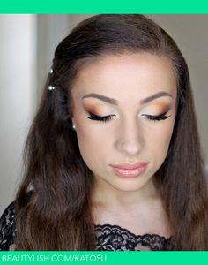 Prom make up for blue eyes | Catherine G.'s (katosu) Photo | Beautylish