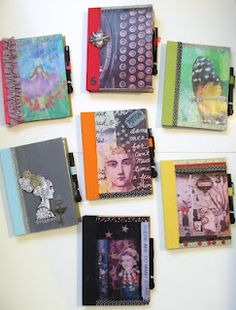 Smash Books.  This is very new to me, but I think I want to make one. I guess it is kind of like a mini scrap book? All comments of help welcome!