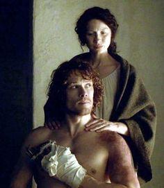 Claire healing Jamie...again. ❤️