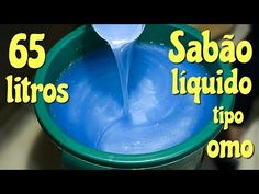 SABÃO LÍQUIDO TIPO OMO 65 LITROS - otimo para venda - YouTube Cleaning Recipes, Home Made Soap, Perfume, Soap Making, Coffee Cans, Shampoo, Food And Drink, Homemade, Youtube