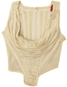 Vivienne Westwood Ivory Off White Vintage Bustier Corset Top Vivienne Westwood, Cool Outfits, Fashion Outfits, Womens Fashion, Chloe Sevigny Style, Bustier, Clothing Items, Timeless Fashion, Diy Clothes