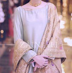 At a baraat <br> Simple Pakistani Dresses, Simple Dresses, Beautiful Dresses, Pakistani Wedding Dresses, Pakistani Outfits, Pakistani Clothing, Desi Clothes, Asian Clothes, Pakistani Fashion Party Wear