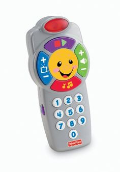 Fisher-Price Laugh & Learn Click 'n Learn Remote A fun, friendly face. Lights up at baby's touch. Click 'n Learn Fun The Fisher-Price Laugh & Learn Jouets Fisher Price, Fisher Price Toys, Terrarium Diy, Toys R Us, Children's Toys, Bb Reborn, Sports Games For Kids, Sing Along Songs, Version Francaise