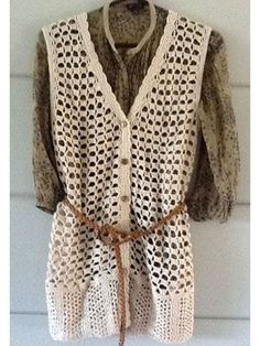 Crochet Vest - free crochet pattern with a free sign-up to Knit and Crochet Now! TV