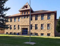 Mancos High School in Montezuma County, Colorado