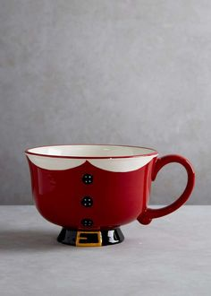 Large Santa Christmas Mug (14cm) View 1