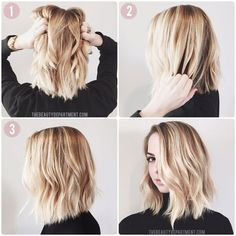 "Perfect wave tutorial, especially good for a ""lob"" or bob."