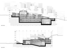 Competition Entry: Istanbul Gülsuyu Cemevi and Cultural Center,Sections