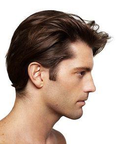 medium brown straight healthy matt-look hairstyles for men