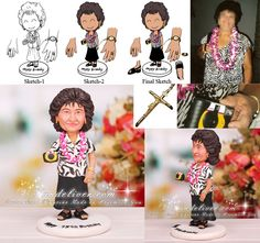 Personalized 75th Birthday Cake Toppers 75