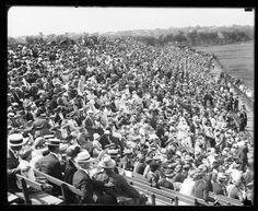 baseball crowd 1930s