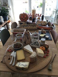 Mesa salgados halloween
