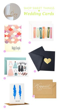 Guest Post: Jeanne's Wedding Card Picks | conundrum