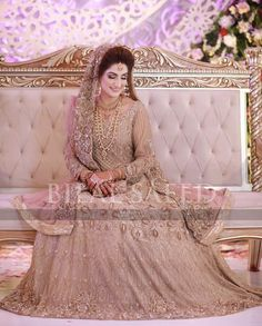 💞💞💞 Pakistani Fancy Dresses, Bridal Mehndi Dresses, Pakistani Wedding Outfits, Bridal Dress Design, Pakistani Wedding Dresses, Bridal Outfits, Bridal Style, Indian Wedding Bride, Indian Bridal