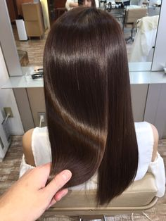Shimmering Light Brown Highlights - 60 Hairstyles Featuring Dark Brown Hair with Highlights - The Trending Hairstyle Hair Color And Cut, Brown Hair Colors, Cool Hair Color, Beautiful Long Hair, Gorgeous Hair, Cabello Color Chocolate, Leave In, Straight Hairstyles, Hairstyles Videos