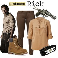 """""""Rick - The Walking Dead"""" by marybethschultz on Polyvore"""