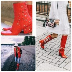 7-moduri-de-a-purta-ghetele-in-aceasta-toamna_f Knee Boots, Shoes, Fashion, Moda, Zapatos, Shoes Outlet, Fashion Styles, Knee Boot, Shoe