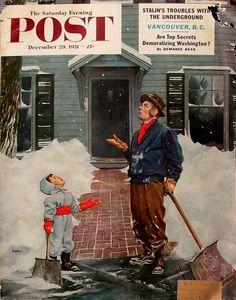 Dec. 29th 1951 - Saturday Evening Post - art by George Hughes